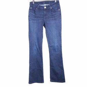 J. Lo Jennifer Lopez Dark Wash Boot Cut Jeans